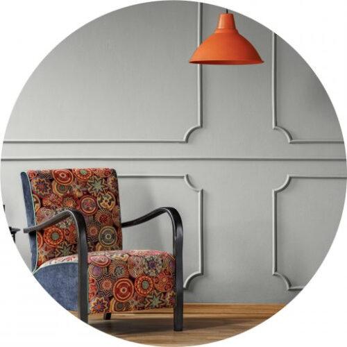 Peinture gris chaud haut de gamme pour mur et plafond