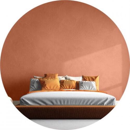 Peinture orange haut de gamme pour mur et plafond