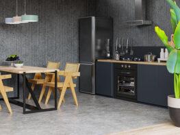 Meuble de cuisine noir, est-ce une bonne idée ?