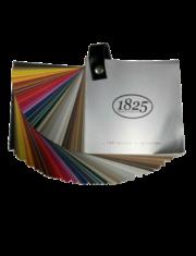 nuancier des couleurs pour les peintures 1825