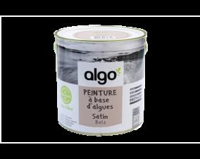 Peinture bio à base d'algues pour murs