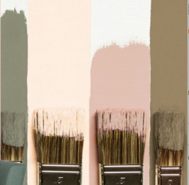 Types de peintures pour relooking d'intérieur