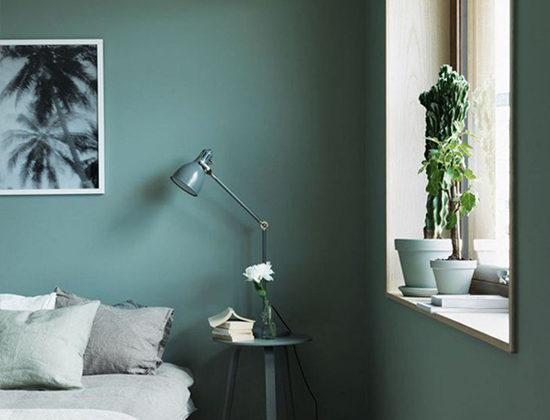 Peinture murale verte tendance pour 2020