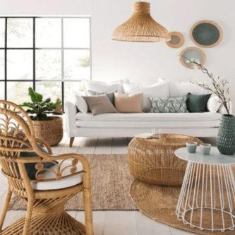 Exemple de salon design et déco tendance en 2019