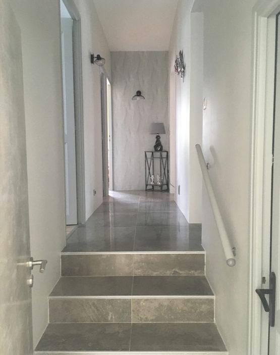 Projet home staging carrelage pour un couleur d'une maison à Montpellier