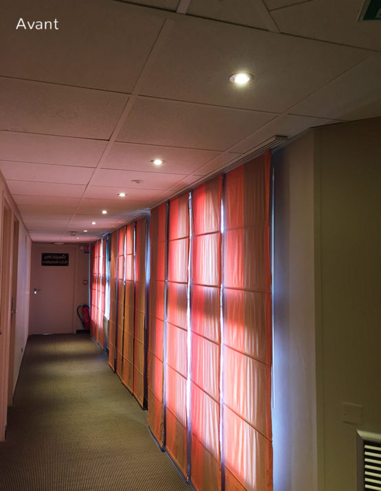 Projet de rénovation d'un hotel à la Grande Motte